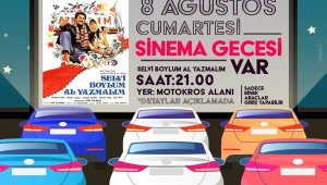 """Afyonkrahisar'da ikinci """"açık hava sineması"""" düzenlenecek"""