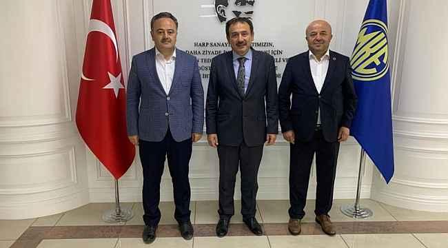 AK Parti'den MKE Genel Müdür Yardımcısı Keskinkılıç'a ziyaret