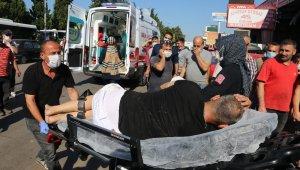 Alacaklısını elindeki tabanca ile kovalarken 3 kişiyi vurdu