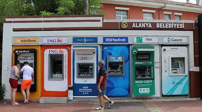 Alanya'da modüler bankamatiklerin sayısı artıyor