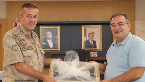 Albay Başaklıgil'den Başkan Bulut'a veda ziyareti