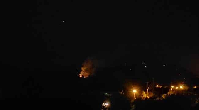Alevleri söndürmek için Büyükşehir ekipleri seferber oldu