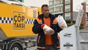 Aliağa Belediyesi bayat ekmek israfını önlüyor