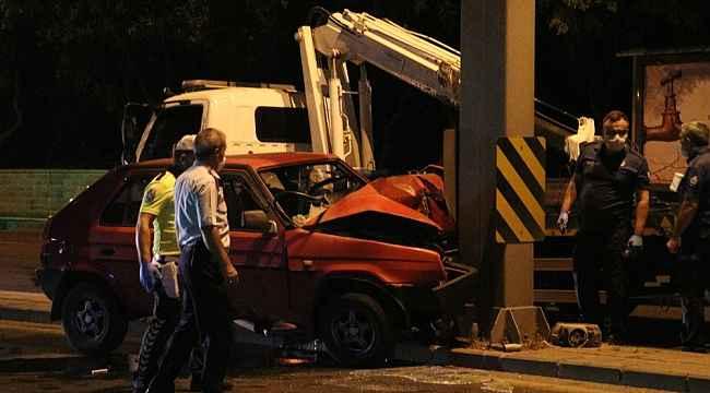 Ankara'da feci kaza: 1 ölü