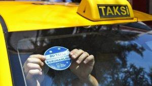 Ankara'da taksiler şeffaf panellerle güvenli hale geliyor