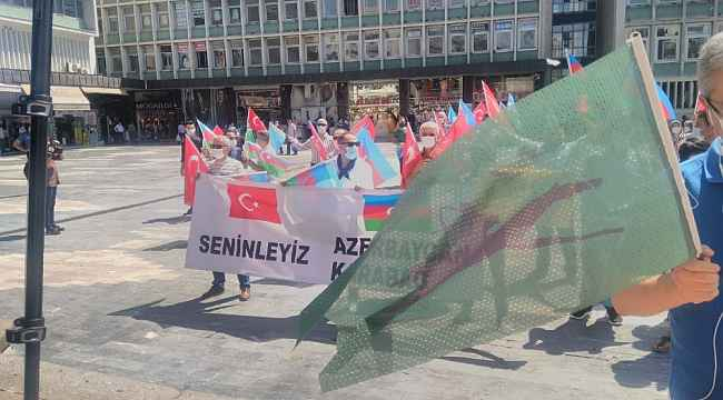 Ankaradan Azerbaycan'a destek