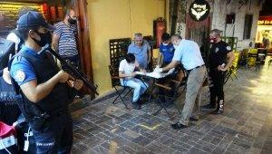 Antalya'da korona virüs denetimi bin 500 polisin katılımıyla başladı