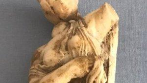 Artvin'de Roma dönemine ait kadın heykeli ele geçirildi