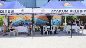 Atakum Belediyesi'nden üniversite adaylarına destek
