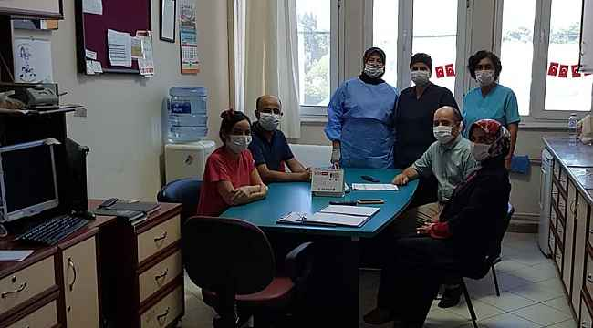 Atatürk Devlet Hastanesi bayramlaştı