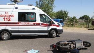 Ayvalık'ta trafik kazası: 1 yaralı