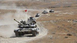 Azerbaycan ile Türkiye arasında atışsız tatbikat provası yapıldı
