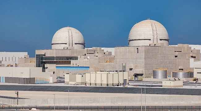 BAE'de Arap dünyasının ilk nükleer santrali faaliyete başladı