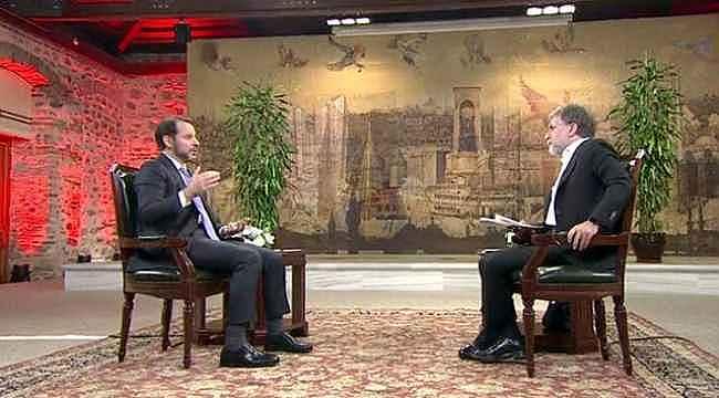 Bakan Albayrak'tan Ahmet Hakan'ın kurdaki dalgalanmayla ilgili sorusuna yanıt