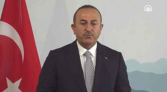 Bakan Çavuşoğlu'ndan önemli açıklama,