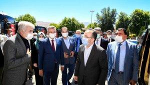 Bakan Yardımcısı Çataklı, Malatya Büyükşehir'i ziyaret etti
