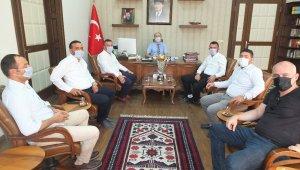 Bandırmaspor'dan protokole ziyaret