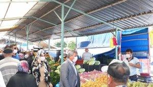 Başkan Arif Teke: Korona virüs tedbirleri aralıksız devam ediyor