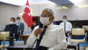 Başkan Büyükkılıç, AK Parti teşkilatlarıyla bayramlaştı