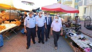 Başkan Demirtaş semt pazarlarını denetledi