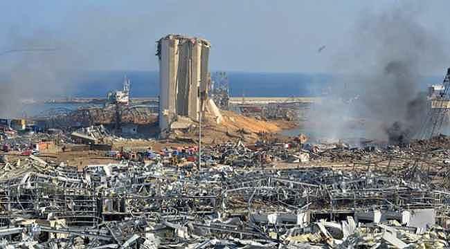 Beyrut'taki patlamada yaralanan 8 Türk vatandaşından 7'sinin durumu iyi