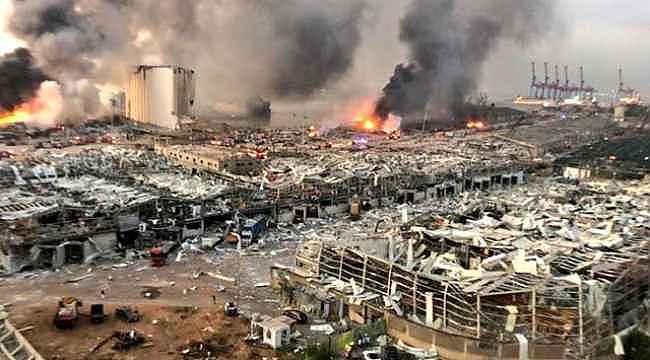 Beyrut'u yerle bir eden 2750 ton amonyum nitrat İstanbul Boğazı'ndan geçmiş