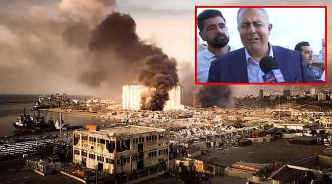 Beyrut Valisi patlamayı gözyaşları içinde anlattı: