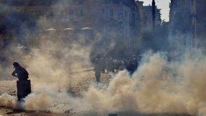 Beyrut'taki protestolar sırasında 1 polis öldü, yaralı sayısı 238'e yükseldi