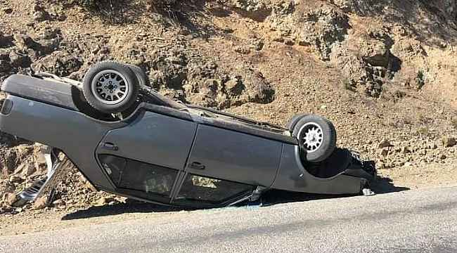 Birlikte gezmeye giden aileler kaza geçirdi: 4 yaralı