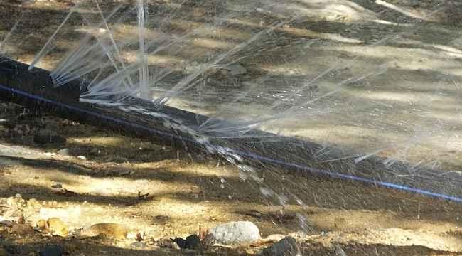 Burhaniye'de su sıkıntısı köylüleri karşı karşıya getirdi