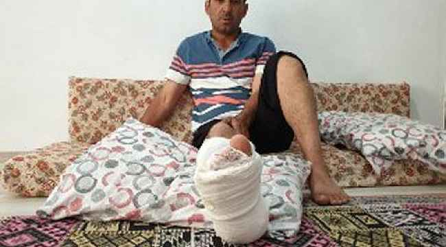 Bursa'da servisin kendisine hızla geldiğini görerek ölümden dönen işçi o anları anlattı