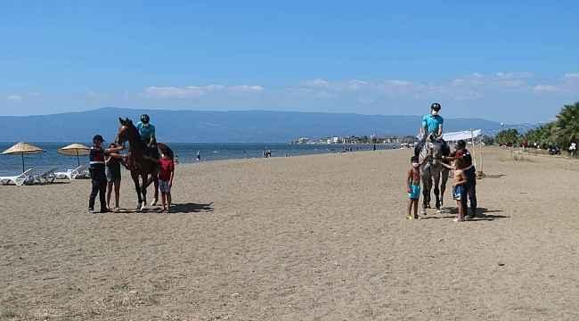 Bursa'nın sahilleri ve piknik alanları atlı jandarma timlerine emanet - Bursa Haberleri