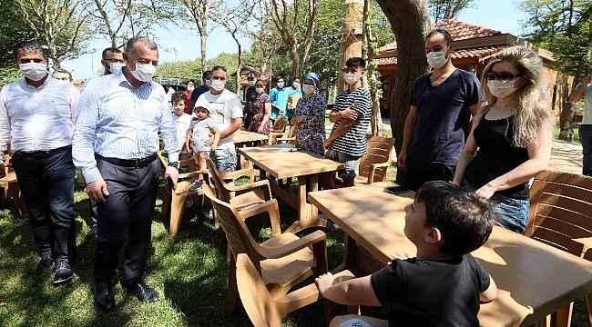 Büyükşehir kamplarından 2 bin 200 sağlık çalışanı faydalandı