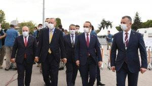 Cumhurbaşkanı Erdoğan, Türkiye güç katacak tesisleri hizmete açtı…