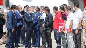 Cumhurbaşkanı Yardımcısı Oktay ve Bakan Çavuşoğlu, Lübnan'da