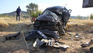 Diyarbakır'da bayram dönüşü feci kaza: 1 ölü, 5 yaralı