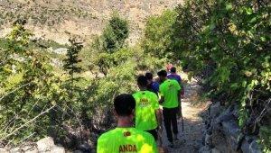 Diyarbakır'da kaybolan Miraç'ı arama çalışmaları 9'uncu gününde