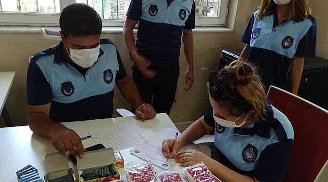 Diyarbakır'da zabıta ekiplerinin patlayıcı madde denetimi sürüyor