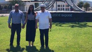 Duayen siyasetçi Dalan Germencik Belediye Başkanı Öndeş ile Germencik'te buluştu