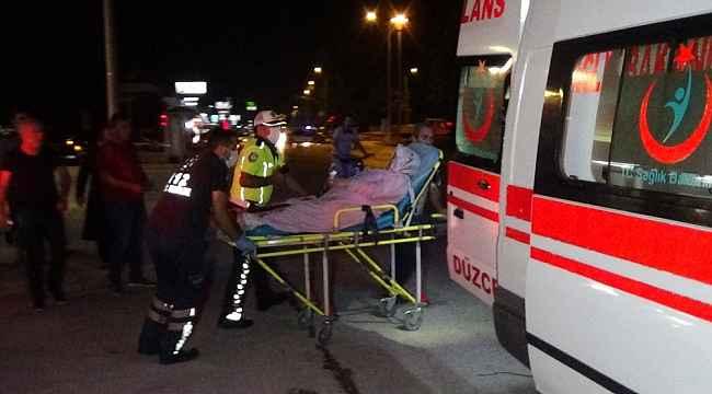 Düzce'de silahlı yaralama: 2 yaralı