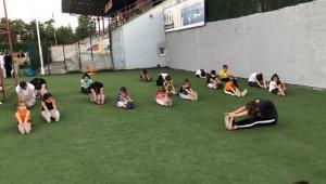 Düzceli 'Wushu' sporcuları antrenmanlara devam ediyor