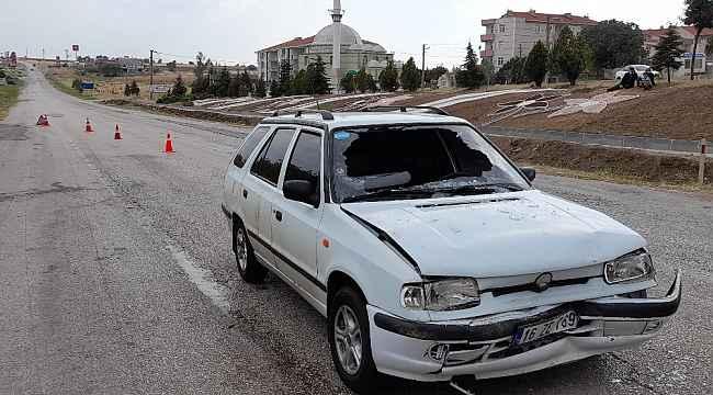 Edirne'de düğün konvoyunda zincirleme kaza: 2 yaralı