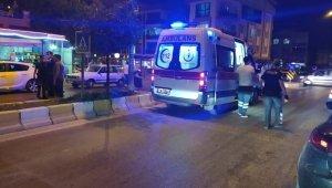 Elektrikli motosiklet ile otomobil çarpıştı: 1 yaralı