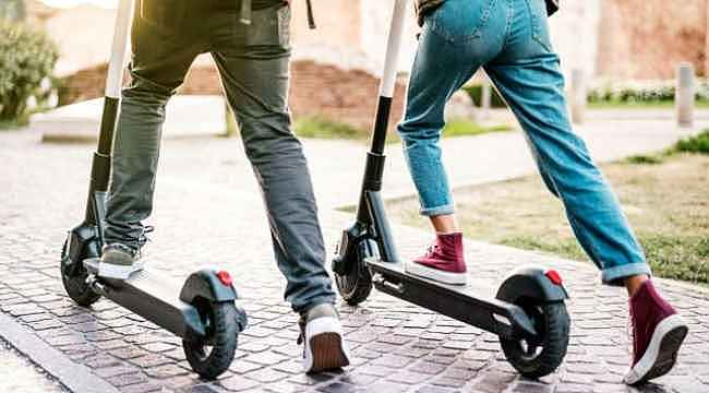Elektrikli scooter kullananlar dikkat... Polis ceza kesmeye başladı