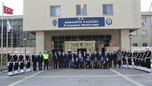 Emniyet Genel Müdürü Aktaş'tan Osmaniye Emniyet Müdürlüğüne Ziyaret