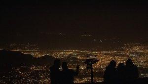 Erciyes'te meteor yağmuru görsel şölen sundu