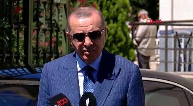 Erdoğan'dan net açıklama,