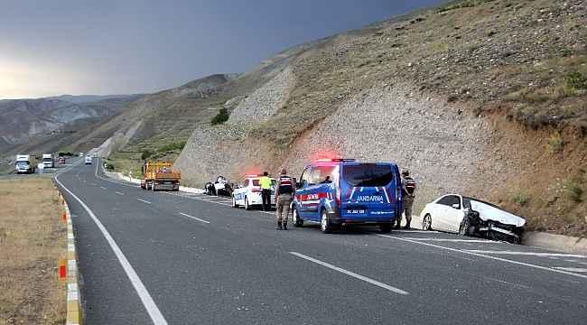 Erzincan'da bayram süresince meydana gelen trafik kazalarında 43 kişi yaralandı