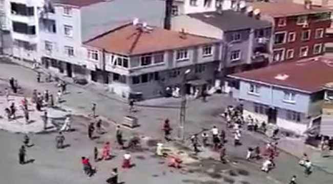 İstanbul'da mahalle kavgasında ortalık savaş alanına döndü