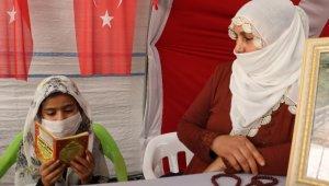 Evlat nöbetindeki Zümrüt Salim, HDP il binasında hafız oğlunun yolunu gözlüyor